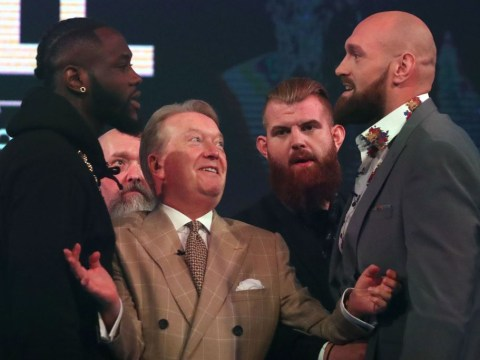 Tyson Fury believes he has got under Deontay Wilder's skin during heated press tour