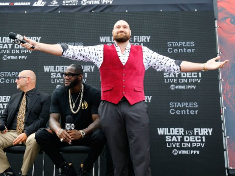 Deontay Wilder or Tyson Fury would easily knock out Anthony Joshua, says Frank Warren