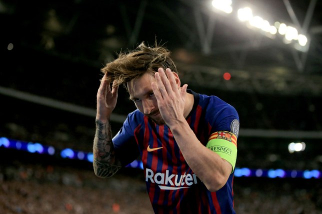 Lionel Messi goal celebration against Tottenham explained