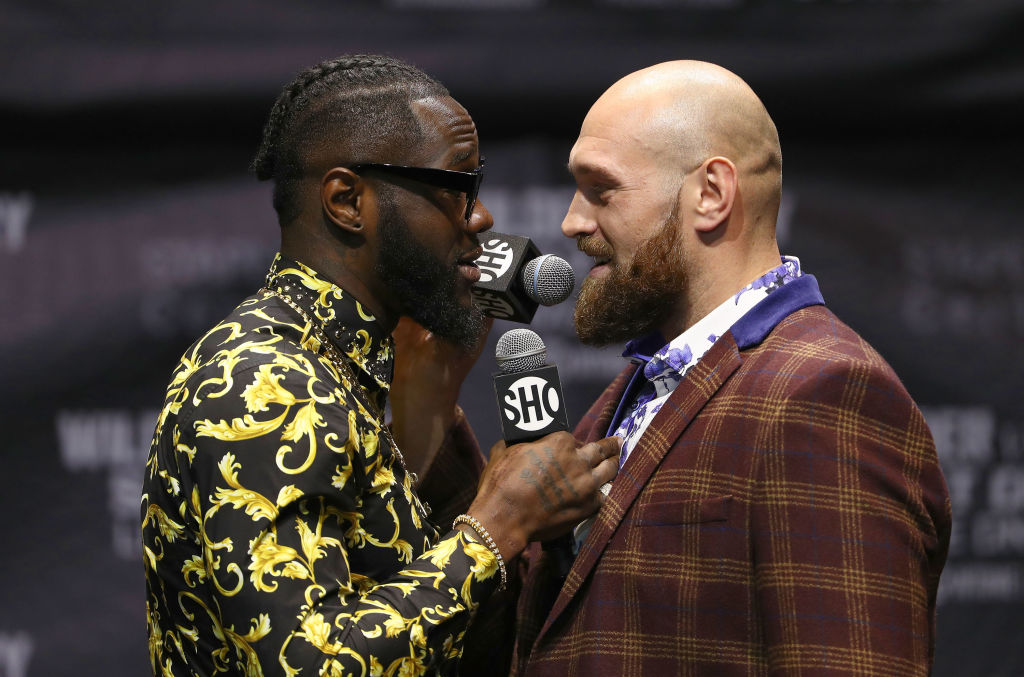 Tyson Fury vs Deontay Wilder date, undercard, TV channel and odds