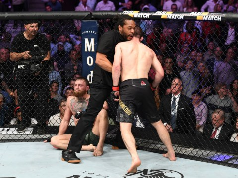 Khabib Nurmagomedov sparks brawl at UFC 229 after defeating Conor McGregor