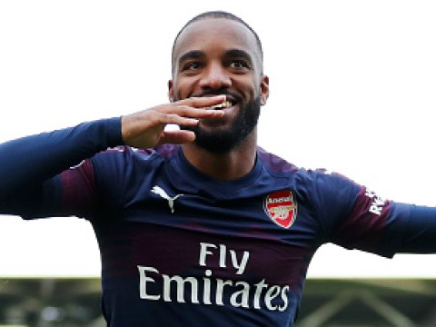 Alexandre Lacazette must 'continue' good work at Arsenal, says France boss Didier Deschamps