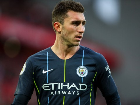 Aymeric Laporte gives update amid injury fears following Manchester City's win vs Everton