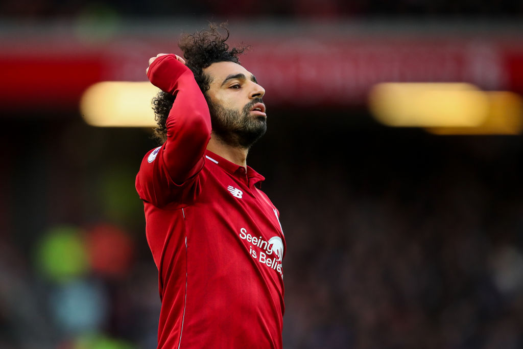Jamie Carragher says 25 goals would be a successful season for struggling Liverpool star Mohamed Salah