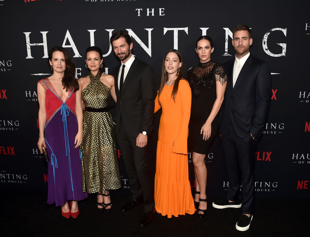 Who are the actors in paranormal Netflix show The Haunting of Hill House?
