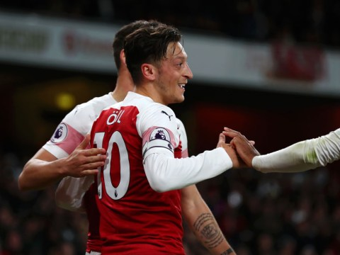 Unai Emery reveals if Mesut Ozil will keep captaincy even when Petr Cech returns