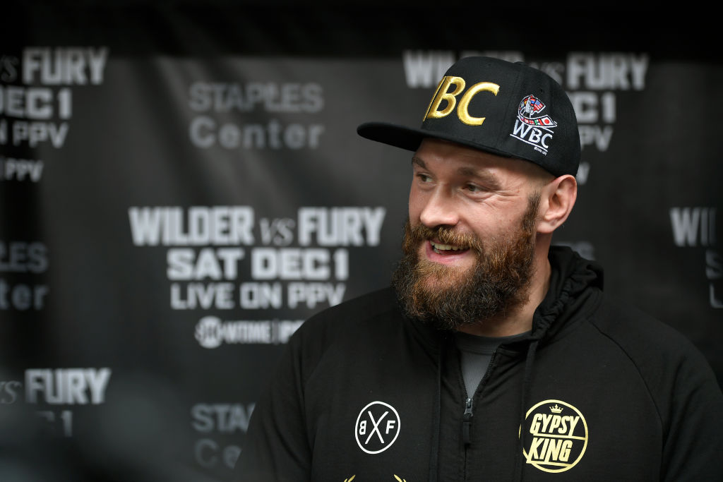 Tyson Fury passes first round of drug testing, confirms WBC