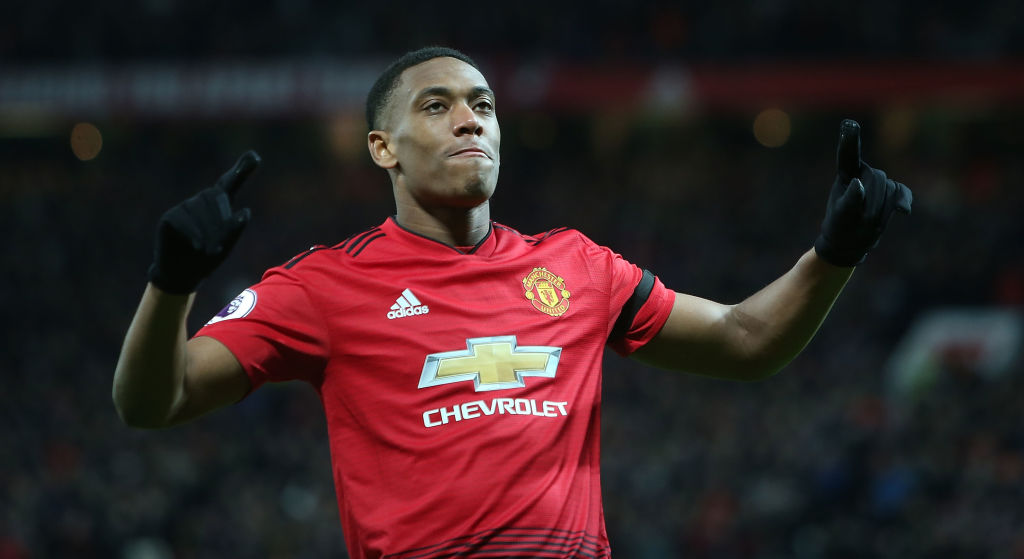 Gary Neville claims Anthony Martial's poor movement is his biggest weakness at Manchester United