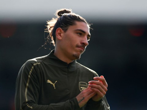 Arsenal admit Hector Bellerin could miss Premier League clash against Liverpool