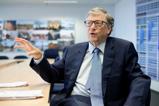 Bill Gates thinks Microsoft should have beaten Google to building a mobile operating system to rival Apple (Thierry Monasse/Getty Images)
