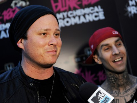 Blink 182's Travis Barker sent Tom DeLonge a nude for Christmas: 'It was fierce'