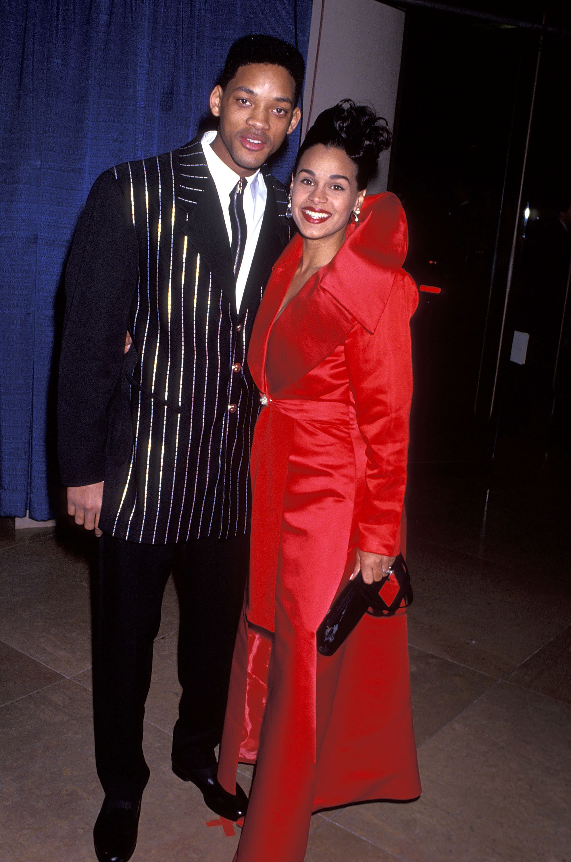 Will Smith and Sheree Zampino
