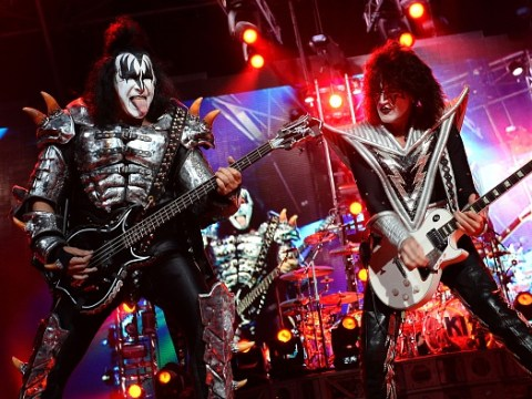 KISS are performing a gig for great white sharks – yes, you read that correctly