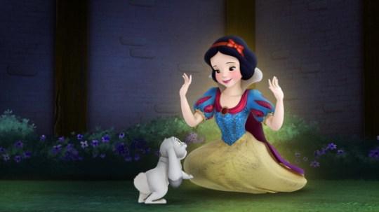 snow white and prince kiss