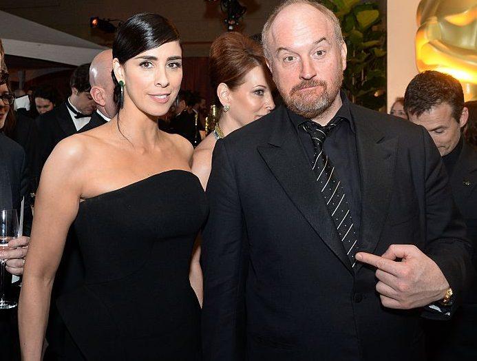 Sarah Silverman and Louis CK