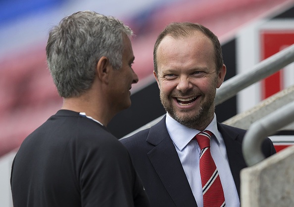 Ed Woodward wants to sign Douglas Costa for Manchester United after sacking Jose Mourinho
