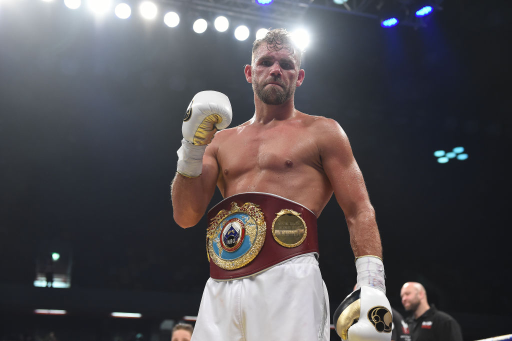 Billy Joe Saunders vacates WBO title as Frank Warren launches effort to clear Brit's name