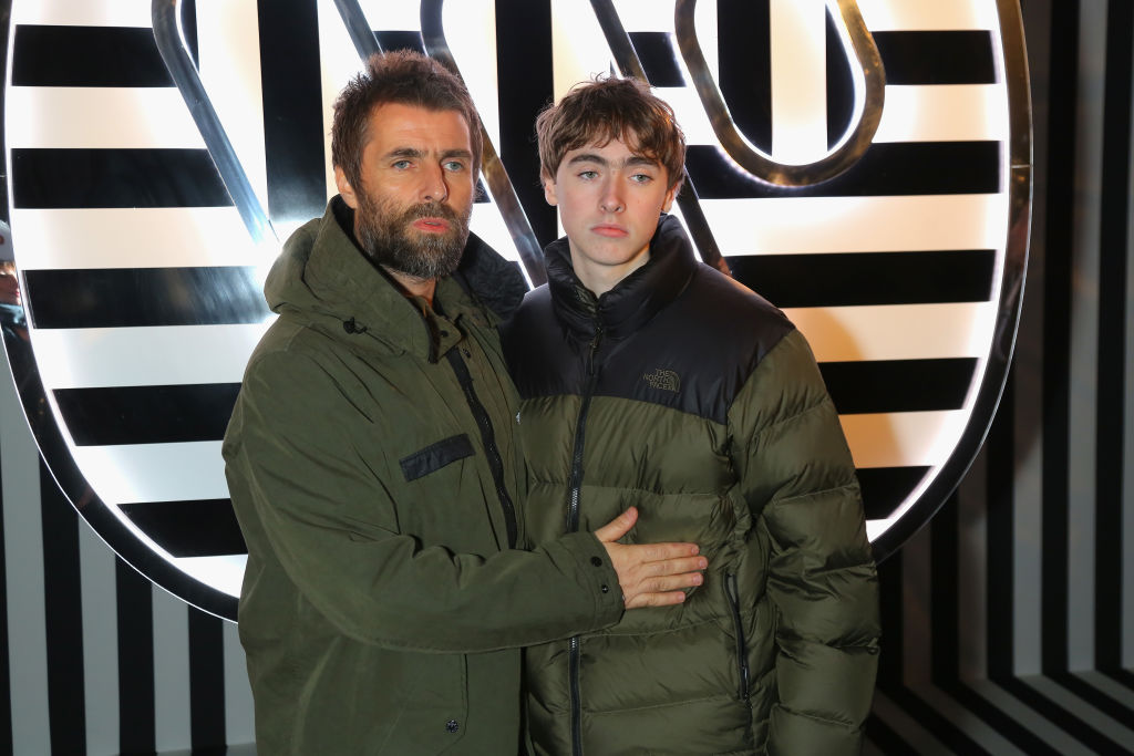 Liam Gallagher's son Gene follows in father's footsteps to his launch his own rock band
