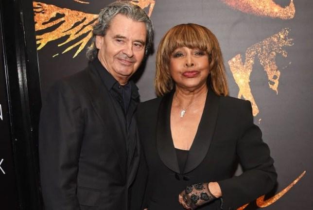 Erwin Bach and Tina Turner