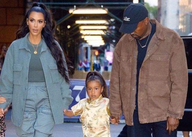 Kim Kardashian 'got in trouble' with Kanye West for letting daughter North wear make-up