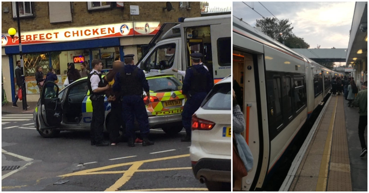 Man goes on 'rampage' shouting 'I'll kill you all' with 12in knife at Hackney Central