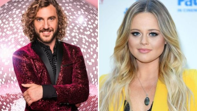 Seann Walsh and Emily Atack