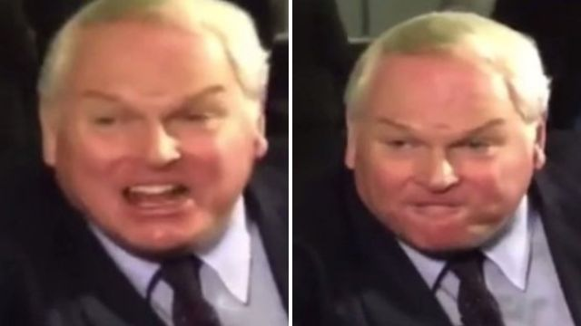 Leaked footage shows Adam Boulton from Sky News shouting 'stop f***ing around'