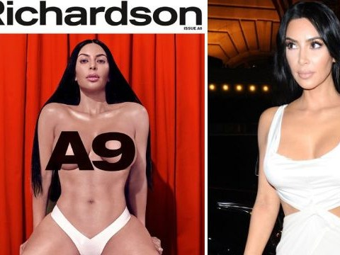 Kim Kardashian insists she's actually quite shy about sex after posing naked for erotic magazine