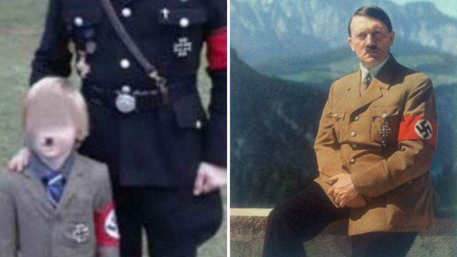 Dad dresses son, 5, as Hitler for Halloween then moans when people criticize him