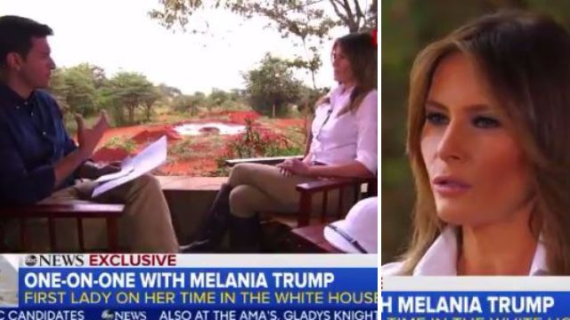 Melania Trump says #MeToo victims should only come forward with proof