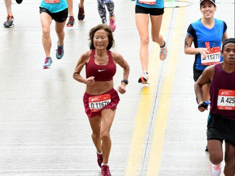 70-year-old woman smashes world record with a ludicrously fast marathon time