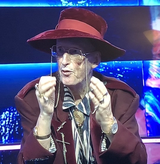 John McCririck on BBBOTS
