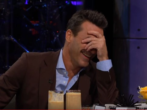 Jon Hamm eats bull's penis to avoid describing the size of his own penis