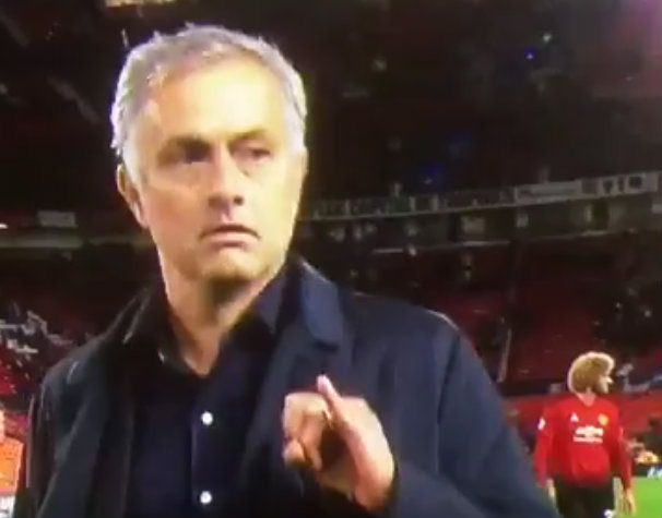 Gary Lineker compares Manchester United boss Jose Mourinho to Dr Evil after bizarre gesture