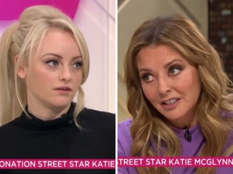 Coronation Street star Katie McGlynn gets a passionate telling off from Carol Vorderman over Chesney