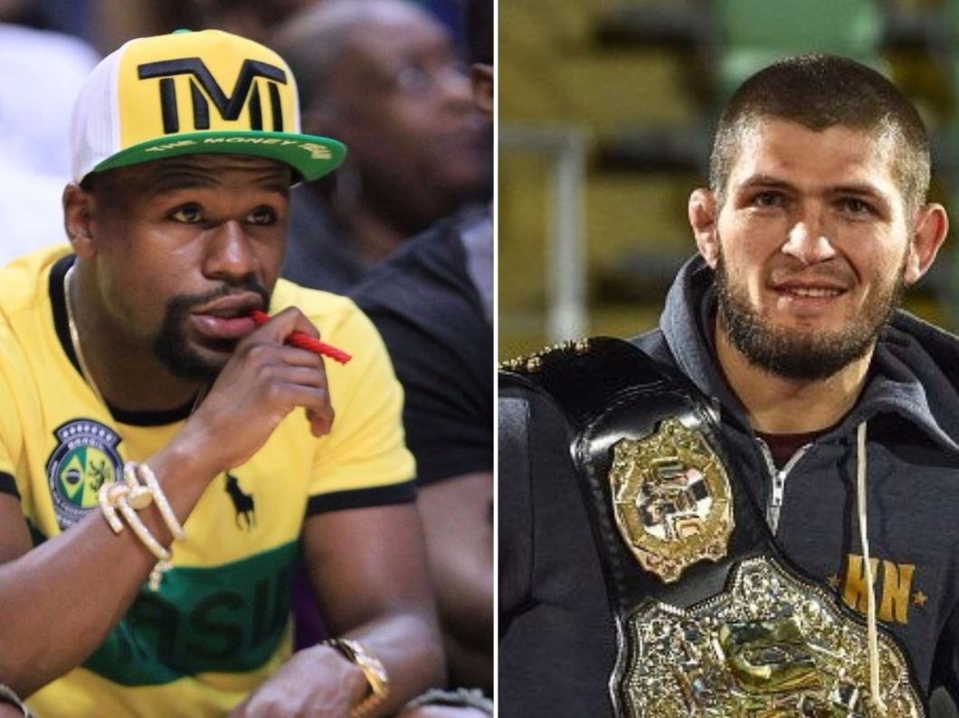 Floyd Mayweather v Khabib Nurmagomedov has to be a 'real fight' in UFC, says Dana White