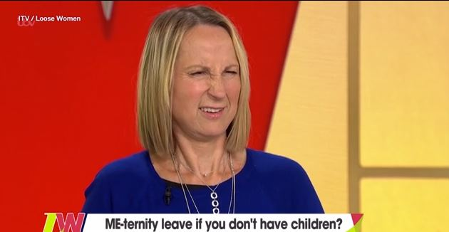 Carol McGiffin and Jane Moore clash over 'me-ternity leave' for people without kids in heated debate