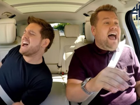 Michael Buble is on top form for epic Carpool Karaoke special appearance