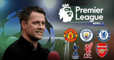 Michael Owen's Premier League predictions, including Liverpool v Man Utd & Southampton v Arsenal