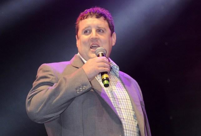Mandatory Credit: Photo by REX/Shutterstock (4088291cl) Peter Kay Blackpool Illuminations switch-on, Blackpool, Britain - 29 Aug 2014