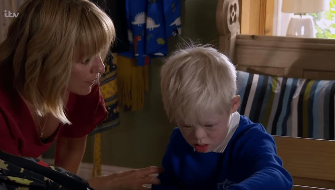 Rhona worries about Leo in Emmerdale