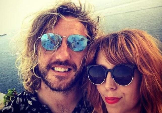 Seann Walsh and girlfriend