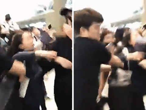 Wanna One's manager caught pushing female fan in shocking video as agency issues apology
