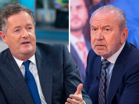 Piers Morgan forced to apologise as Lord Alan Sugar makes bizarre quip about having the clap on GMB