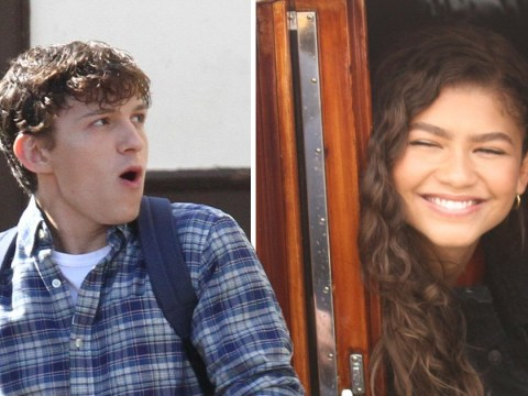 Tom Holland films chaotic Spider-Man: Far From Home scenes but Zendaya is so chill