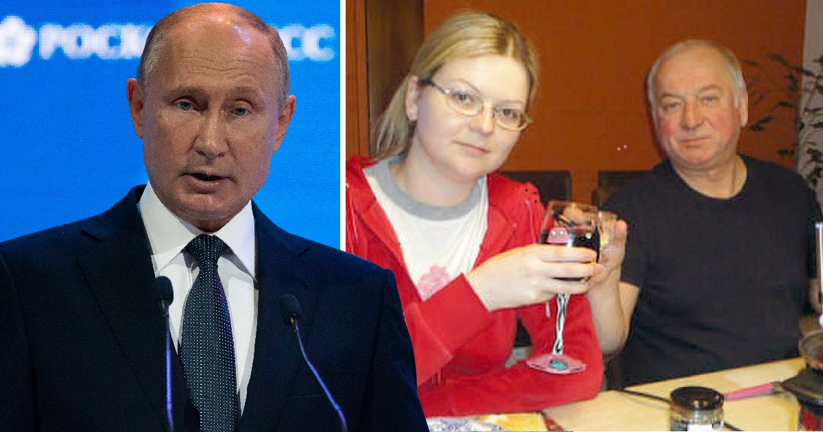 Putin labels poisoned spy Sergei Skripal a 'scumbag' and 'traitor'
