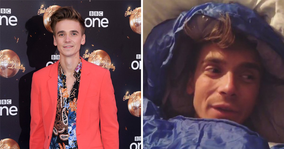 Joe Sugg blames Strictly Come Dancing for spray tan problems in the bedroom
