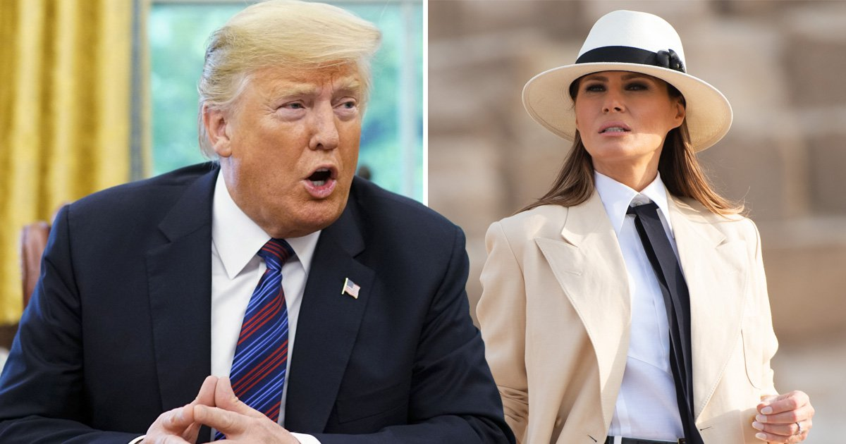 Melania Trump tells Donald off when she disagrees with his tweets