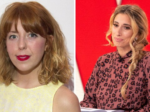 Stacey Solomon praises Seann Walsh's ex Rebecca Humphries after pictures of him kissing Strictly's Katya Jones emerge