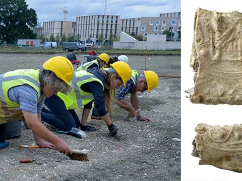 Huge Roman villa found discovered next to park and ride